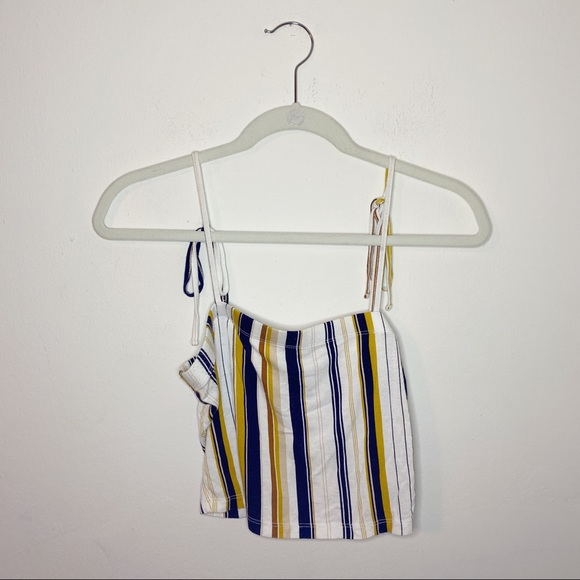 Forever 21 Tied Strap Tank